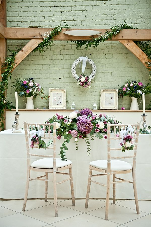 Perhaps these could be at your head table.  It looks lovely and you could see everybody.