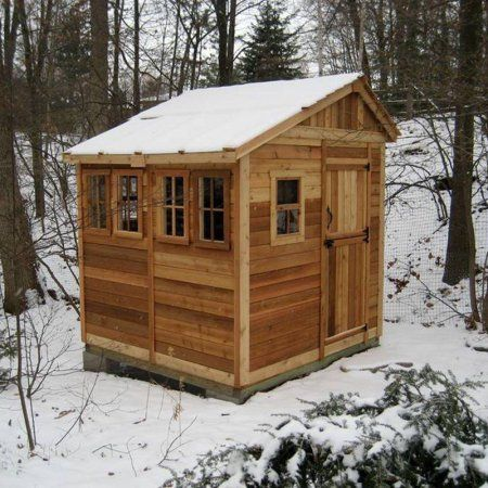outdoor living today ssgs88 sunshed 8 x 8 ft garden shed - Garden Sheds 8x8