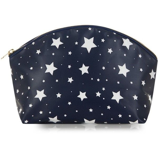 Catherine & Jean - Tara Wash Bag Medium Star ($43) ❤ liked on Polyvore featuring beauty products, beauty accessories, bags & cases, toiletry bag, toiletry kits, travel toiletry case, cosmetic purse and dop kit