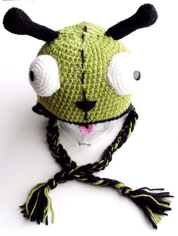 Crochet Invader Zim Patterns : ... images about Crochet Gir on Pinterest Dog suit, Crochet and Robots
