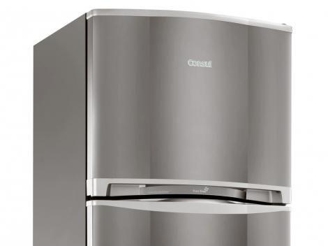 Geladeira/Refrigerador Consul Frost Free Duplex 263L Inox CRM33ER - Geladeira/Refrigerador - Magazine Luiza