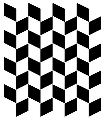 Geometric stencils from The Stencil Library. Stencil catalogue quick view page 11.