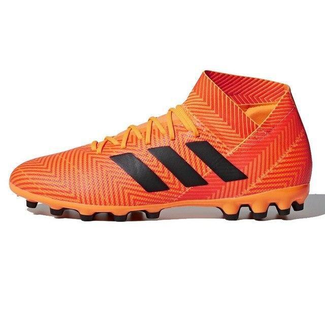 zapatillas adidas hombre negras y naranjas