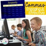 Comma Jeopardy | Grammar Games | Writing | Reading  Practice reviewing commas with this fun Jeopardy game.