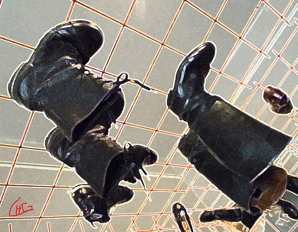 Boots up side down ,olad Ancient .:Colette H. Guggenheim