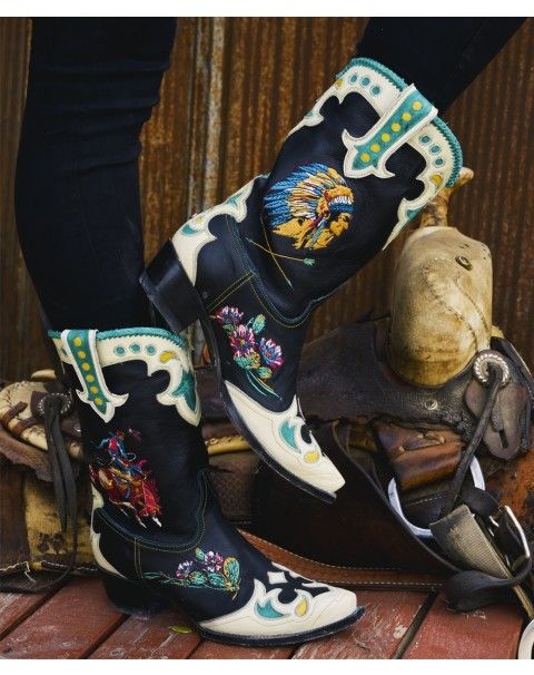 Retro Rodeo Boot - http://ddranchwearwomens.com/apparel-collection/boots/retro-rodeo-boot.html