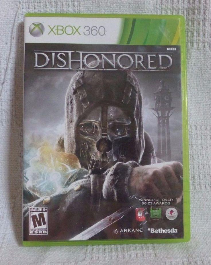 Dishonored Microsoft Xbox 360 game