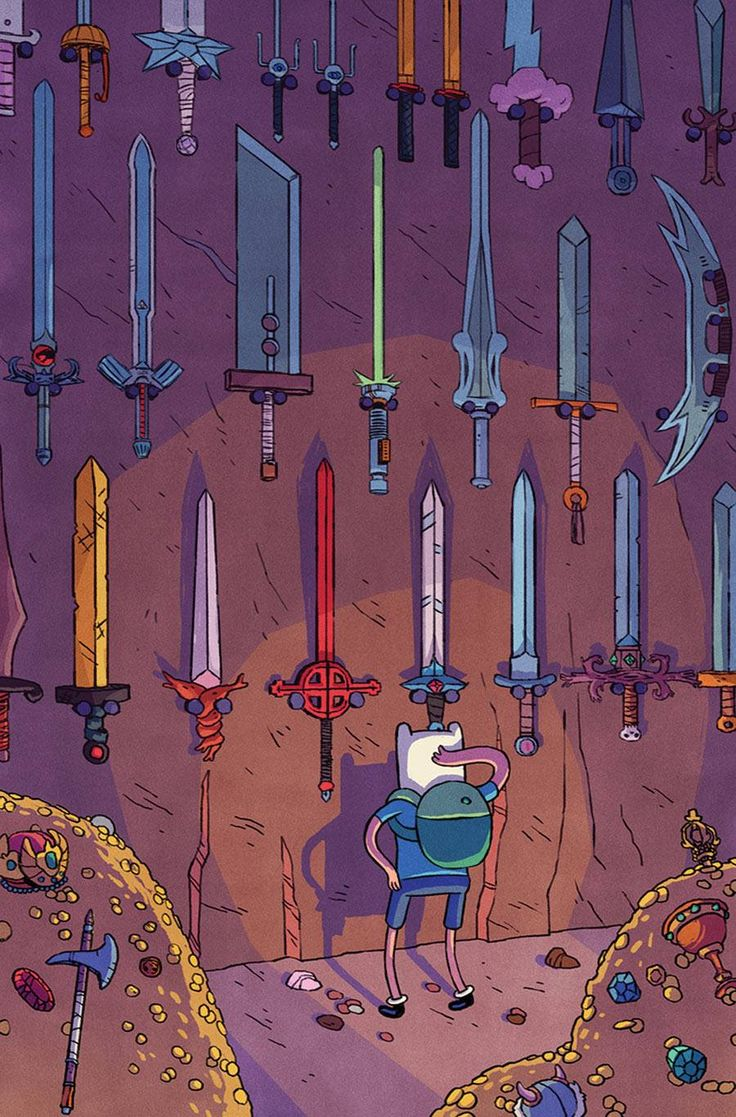 Choices, Choices (Adventure Time with various famous fictional weapons)