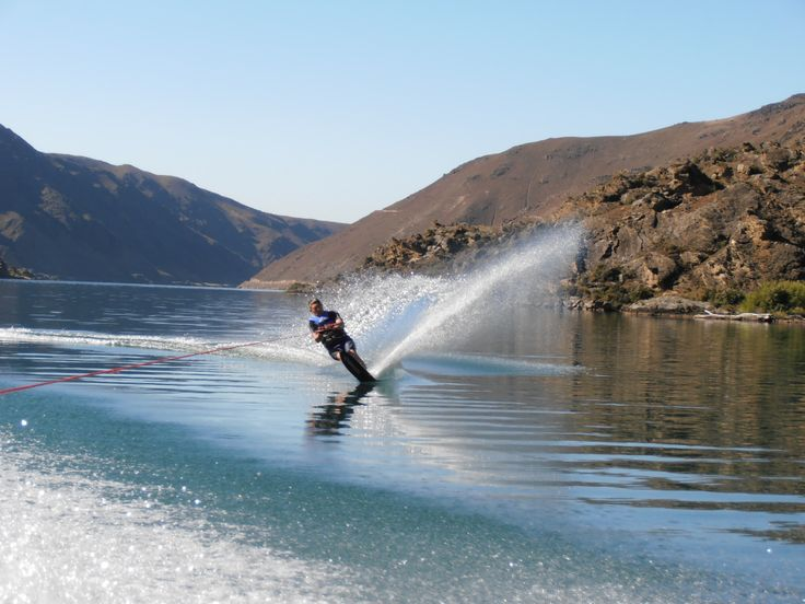 Lake Dunstan, Cromwell, Central Otago. Great for water sports... http://www.centralotagonz.com/central-otago-new-zealand/water-activities