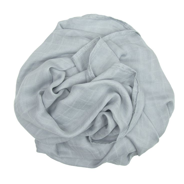 Bamboo Muslin Colours - Silver
