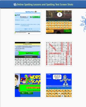 Free Online Spelling Lessons, Tests and Printable Spelling Word Lists By Grade