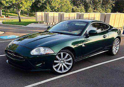 2007 jaguar xk green coupe 2007 xk jaguar racing green coupe 19 rims stunning car mint for - 2007 jaguar xk coupe for sale ...
