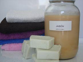 Jabón para la ropa, ¡en pastilla y líquido!