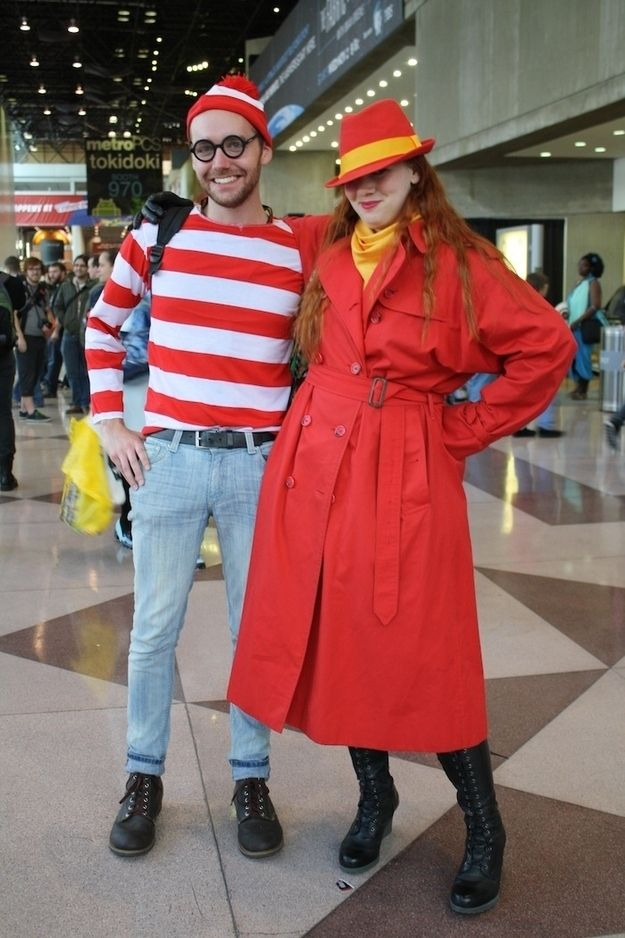 Carmen Sandiego (with Waldo) |  Halloween Costumes Only '90s Kids Will Understand
