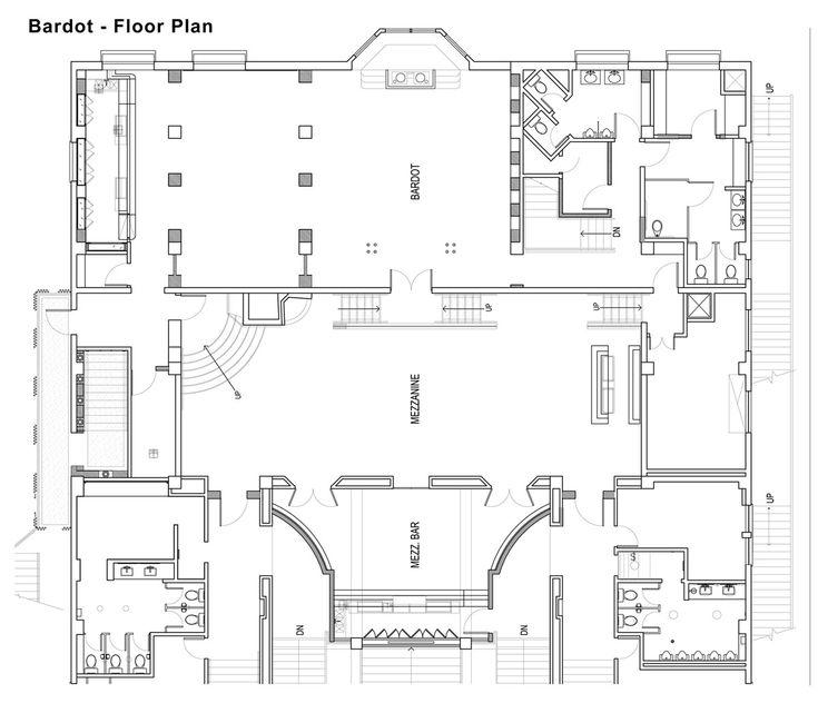 Club Floor Plan Design