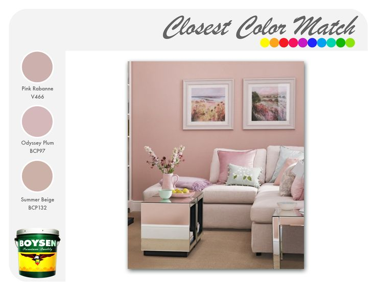 Blush Pink Create An Air Of Charm And Elegance By Painting Your Walls With A
