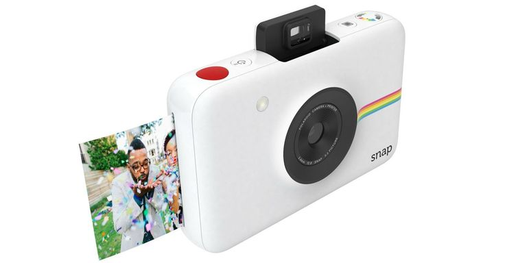 Polaroid just announced the Polaroid Snap, a digital camera that can immediately print out a photo, and it doesn't even need ink to do it.