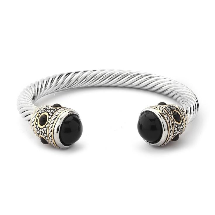 David Yurman inspired classic bracelet. Get this gorgeous piece for only $29.99 at www.premiumcz.com  #DavidYurman #designerinspired #cubiczirconia #CZbracelet #bracelet