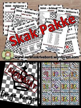 Denne pakke indeholder tre materialerSkak aktivitetskortSkak pralemrker Pralemrker skak - Jeg slr MagnusLs mere om brugen af materialerne i mit blogindlg: Skolernes skakdag... men hvad s nu?