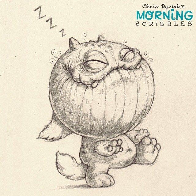 Midnight stroll. #morningscribbles | 출처: CHRIS RYNIAK