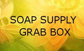 Soap Supply Grab Box  Loads of Items Box Will Be by fireheart99, $40.00