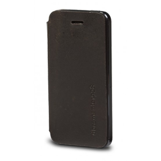 Hunter dark, leather folio cover for iPhone 5 by dbramante1928. Price: $40. More information: www.dbramante1928.com.