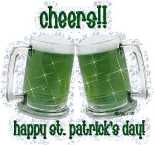 Cheers Happy St Patricks Day st patricks day happy st patricks day st pattys day green beer st patrick's day quotes st patricks day comments