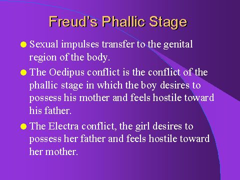 what is the phallic stage