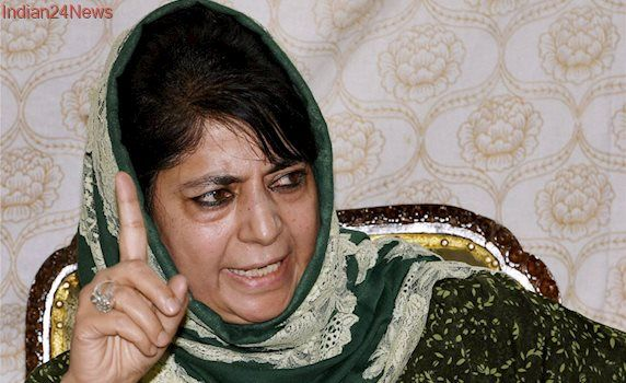 Weakening Article 370 Will be the 'Biggest Anti-national Act': CM Mehbooba
