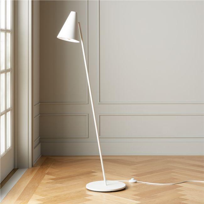 Task Matte White Floor Lamp White Floor Lamp Floor Lamp Modern Floor Lamps Modern white floor lamp