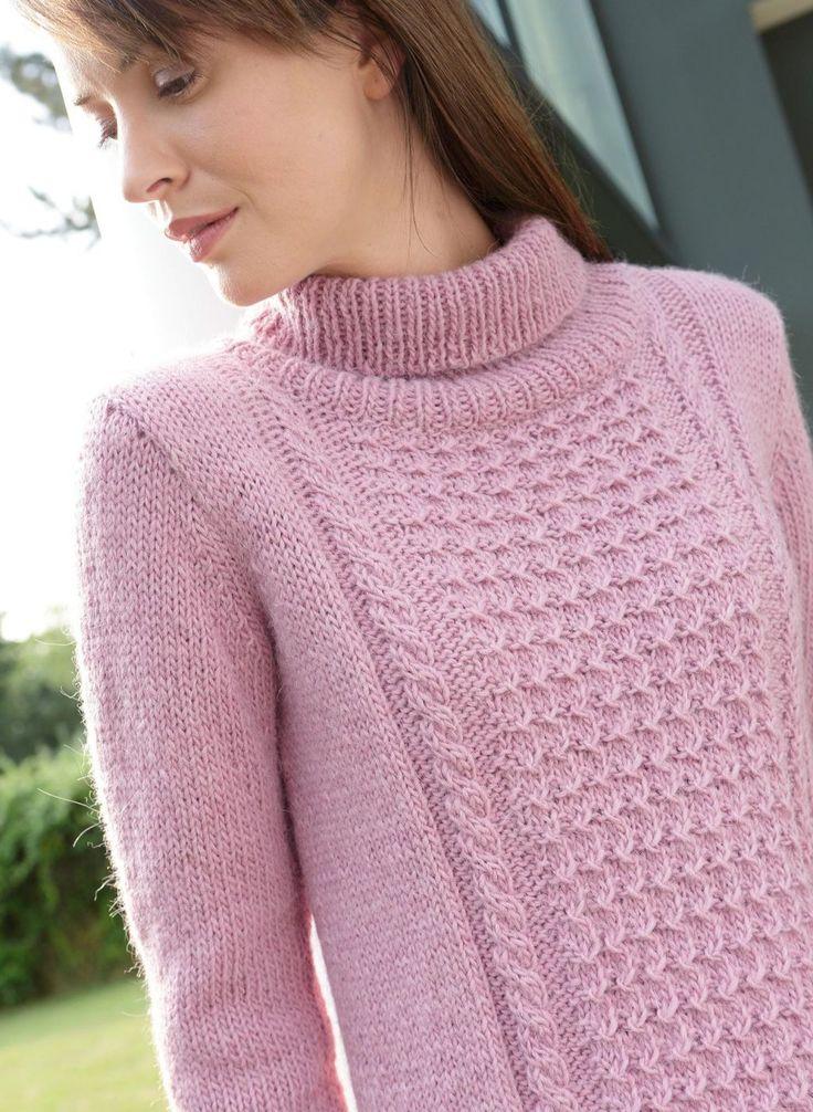 Розовый свитер спицами. Обсуждение на LiveInternet - Российский Сервис Онлайн-Дневников
