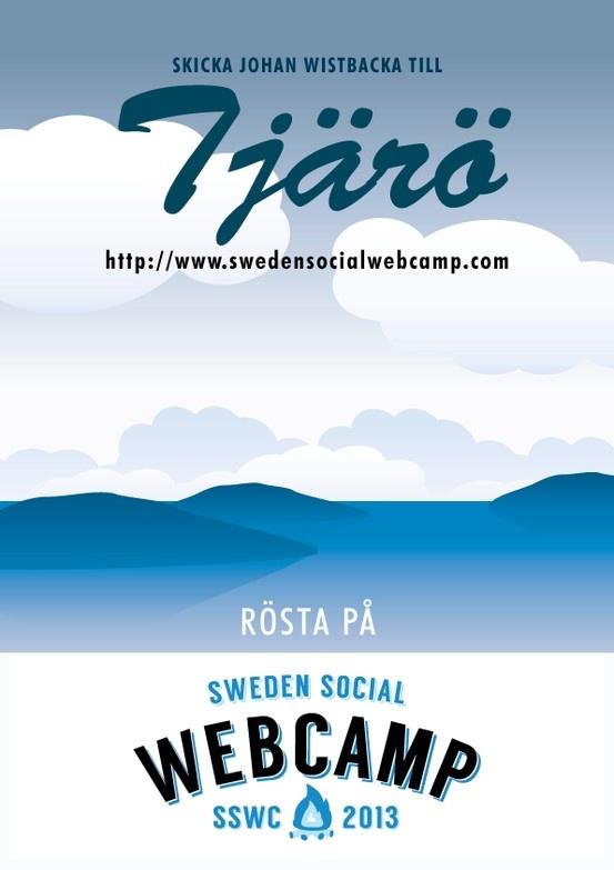 Vote for me! http://swedensocialwebcamp.com