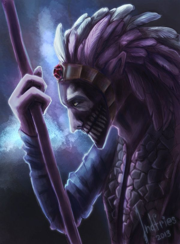 Dota 2 : Dazzle, the Shadow Priest by Indfries on deviantART