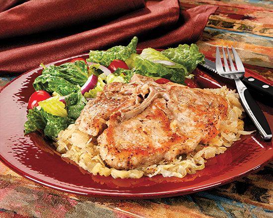 Pork Chops And Sauerkraut Recipes — Dishmaps