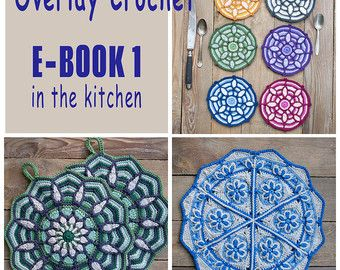 PDF... ***This listing is for the crochet pattern only. Finished mandala is not included!***  **This patterns is available in English and German