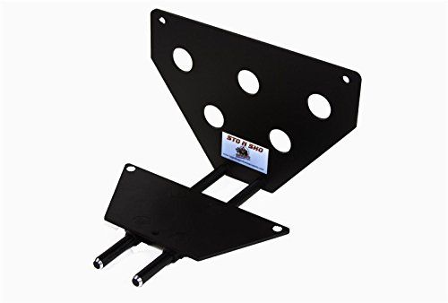 2015-2016 Ford Mustang 2.3L/GT/V6 Sto-N-Sho Removable Front License Plate Bracket. For product info go to:  https://www.caraccessoriesonlinemarket.com/2015-2016-ford-mustang-2-3l-gt-v6-sto-n-sho-removable-front-license-plate-bracket/