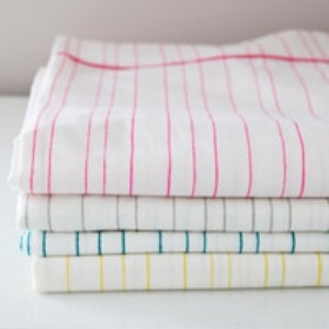Pretty fitted crib sheets