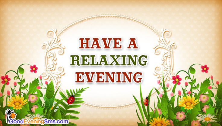 New Good Evening SMS, Images Free Download