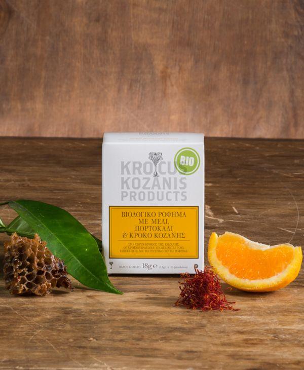 Krocus Kozanis Tea by Georgia Panakia, via Behance