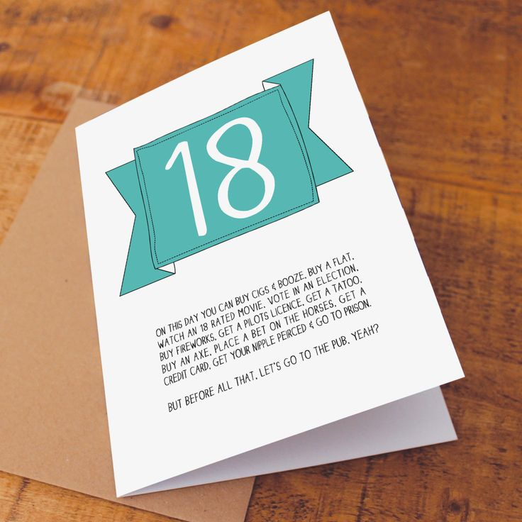 Best 25+ 18th Birthday Cards Ideas On Pinterest
