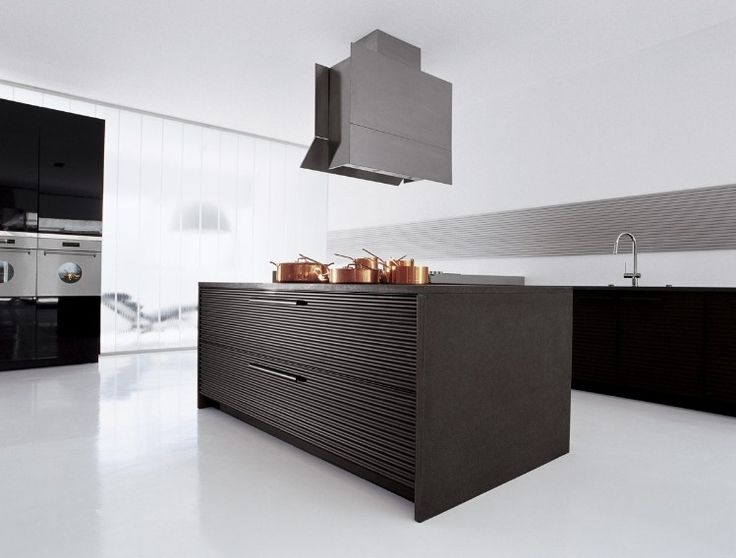 Kitchen Designs:Contemporary Kitchen Decor Made Of Stainlees Steel Classy Kitchens from Schiffini