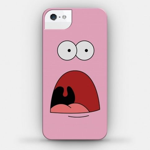 Sport your favorite Spongebob character with this OMG Patrick iPhone case!  Our ultra-thin, impact-resistant iPhone cases let you express yourself without sacrificing the sleekness of the iPhone. The durable polymer construction and lay-flat face keep your device safe, while maintaining the thi...