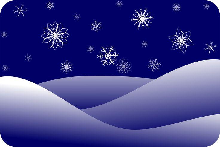 Płatki Śniegu, Śnieg, Zima, Streszczenie, Tle
