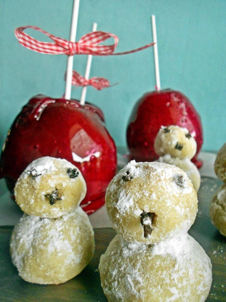 Le voyage du gateaux:    Καραμελωμένα μήλα ..και ο φίλος μου Olaf   ...