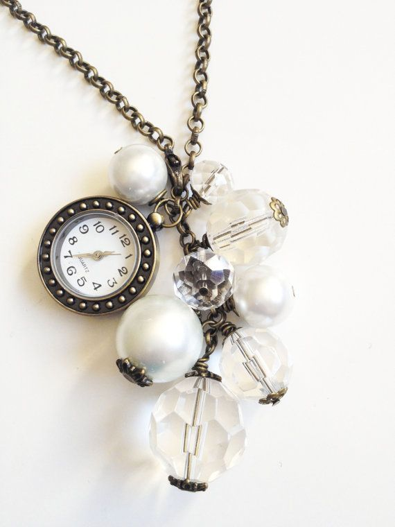 NEW Bronze Watch Bauble Necklace by KananiKouture
