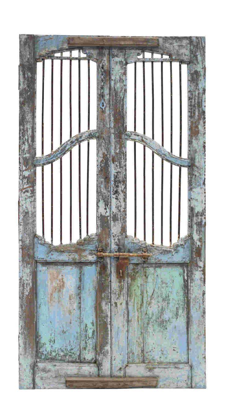 Conely   Puertas de madera, metal y forja, rústicas, artesanales. Decoración. #artesanales #puertas