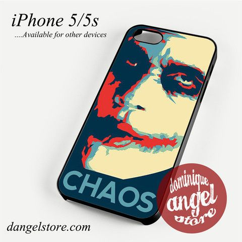 Joker Chaos Phone case for iPhone 4/4s/5/5c/5s/6/6 plus