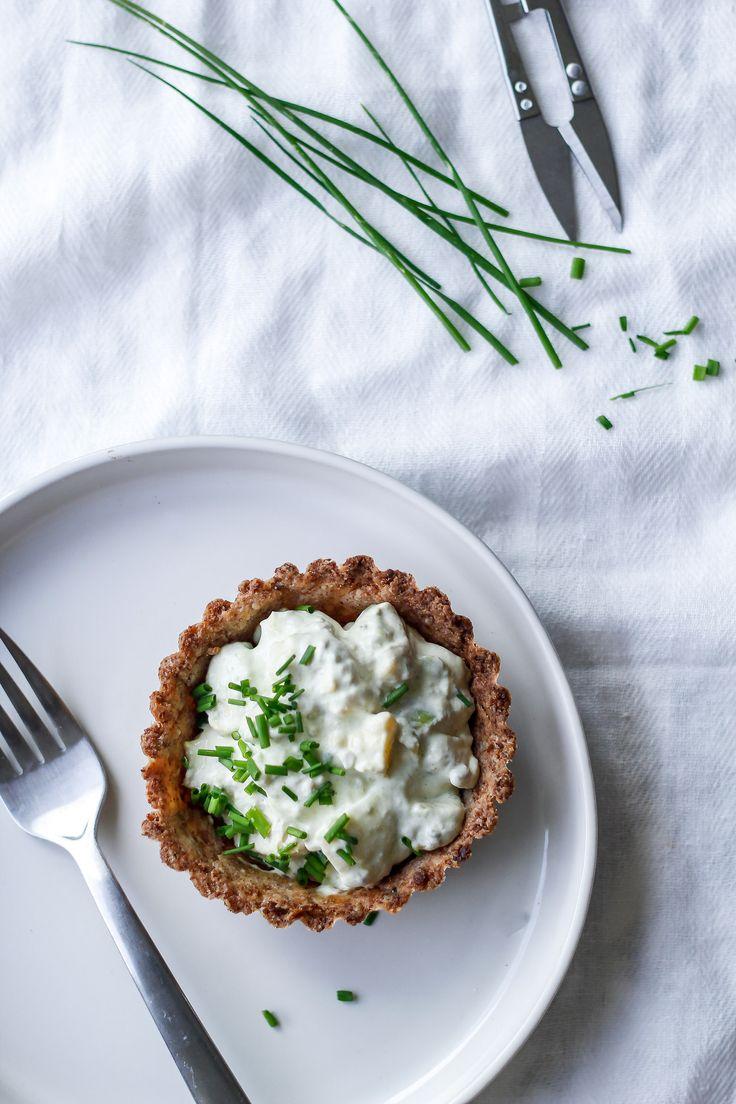 Chicken pie with a healthy crust