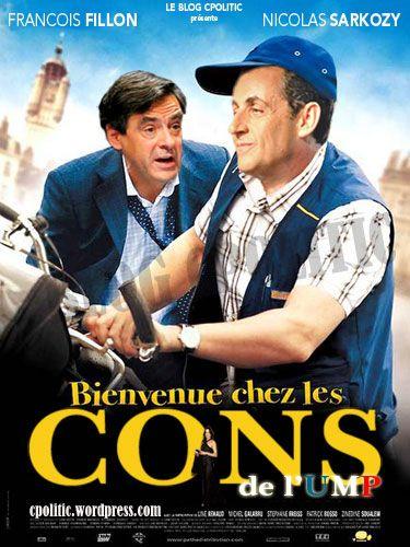 Sarkozy / Fillon : Bienvenue chez les Cons de l'UMP