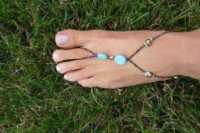 cute foot jewlery